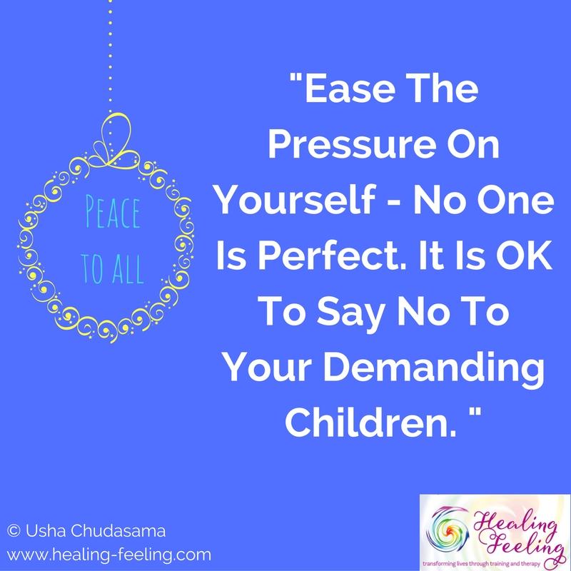Parents Pressure Christmas
